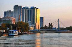 Фото реки Кубань